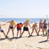 Тимбилдинг на пляже